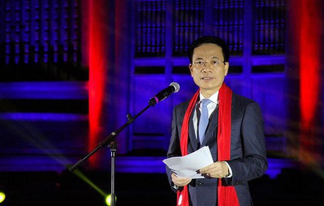 Bộ Trưởng Nguyễn Mạnh Hùng Phát Biểu Tại Buổi Lễ.