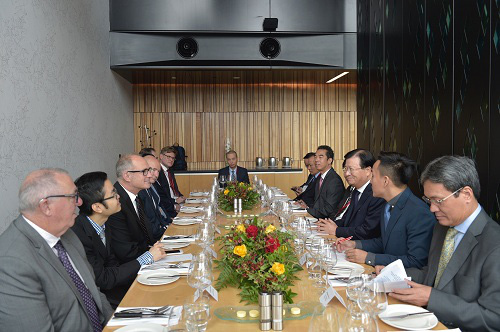 Phó Thủ Tướng ăn Trưa Làm Việc Cùng Bộ Trưởng Phát Triển Kinh Tế Kiêm Bộ Trưởng Giao Thông Và Phát Triển đô Thị New Zealand Phil Twyford
