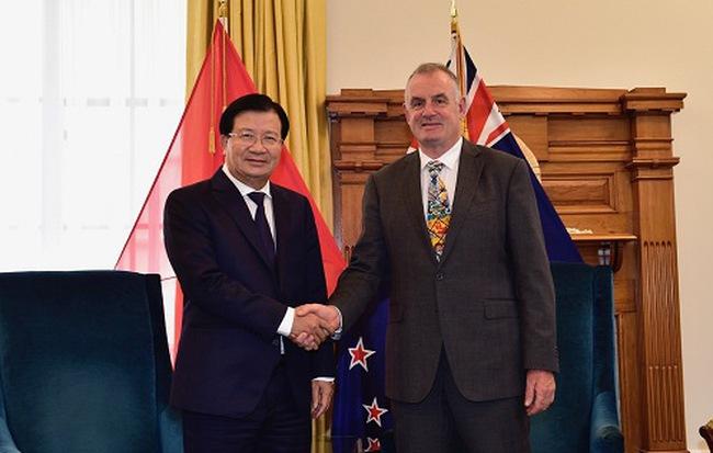 Phó Thủ Tướng Trịnh Đình Dũng Hội Kiến Chủ Tịch Quốc Hội New Zealand