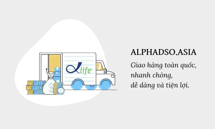 AlphaDSO giao hàng toàn quốc nhanh chóng và tiện lợi