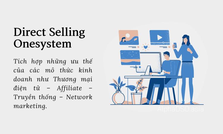 AlphaDSO và mô hình kinh doanh Direct Selling Onesystem tối ưu