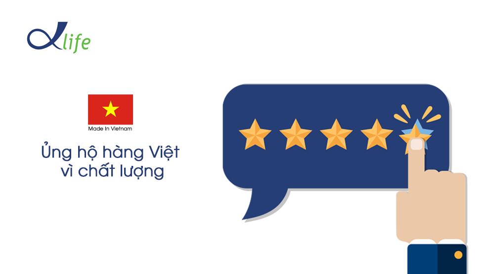 Ủng hộ hàng Việt vì chất lượng