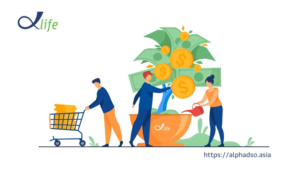 Tạo nguồn thu nhập thụ động từ website TMĐT AlphaDSO.asia