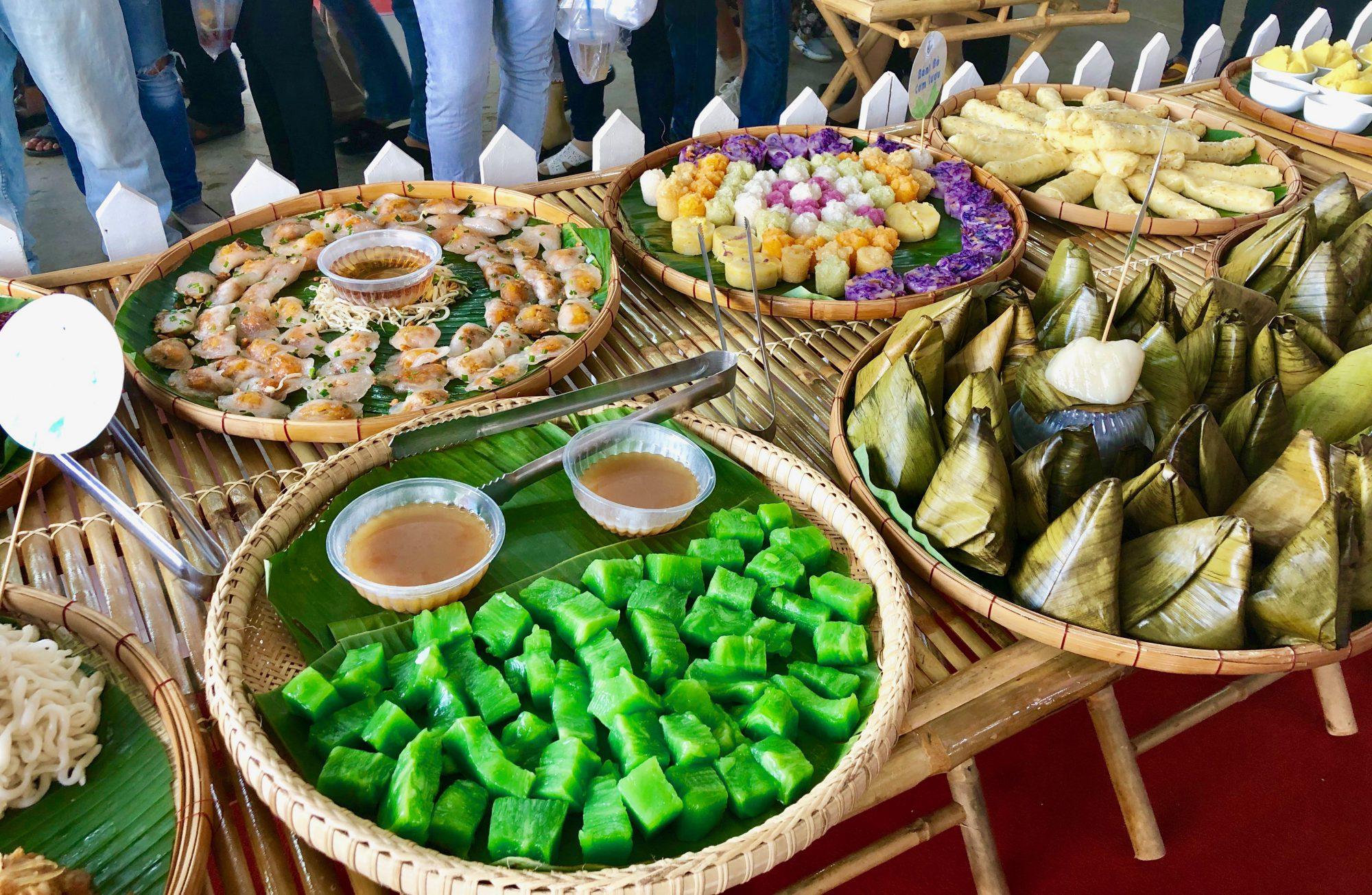 Các món bánh từ gạo - Ảnh: Internet