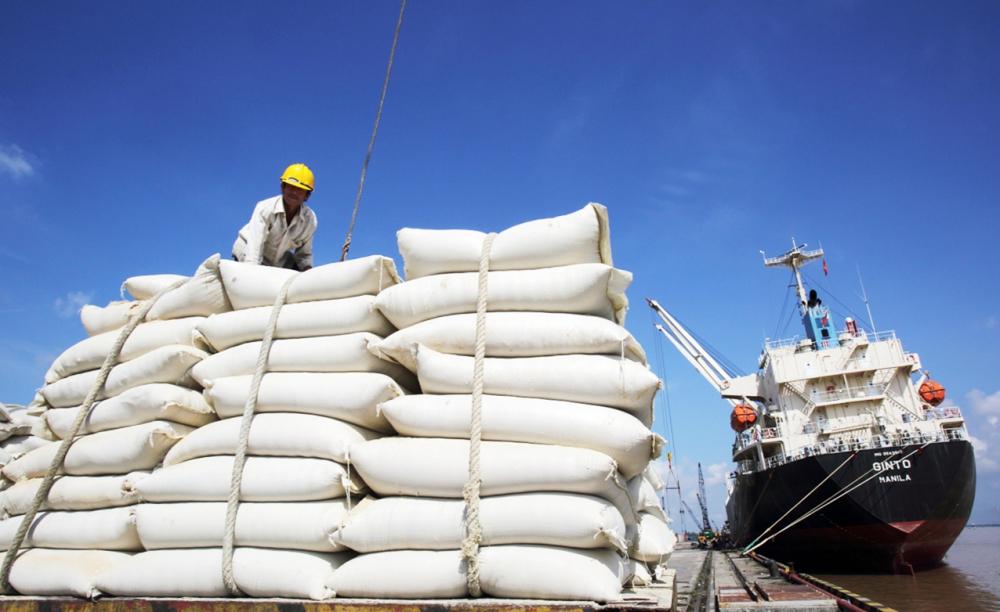 Việt Nam có trữ lượng xuất khẩu gạo 5 nghìn tấn mỗi năm - Ảnh: Internet