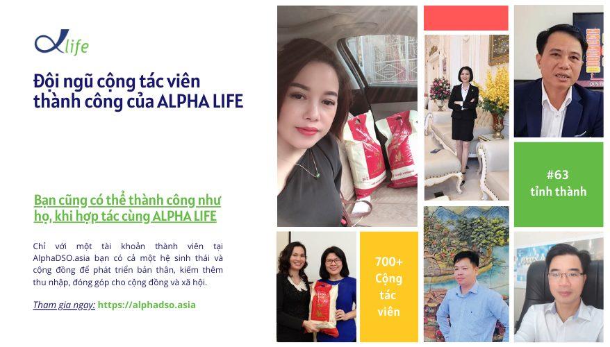 Đội Ngũ CTV Thành Công Cùng Alpha Life 700++