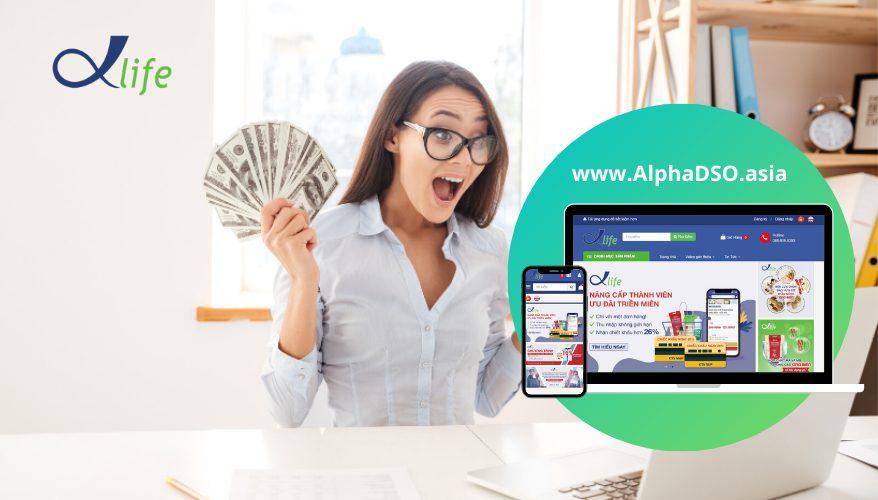 Kiếm tiền từ trang các nhân Facebook cùng AlphaDSO.asia